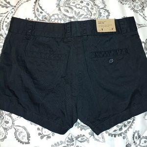 J. crew black city fit shorts